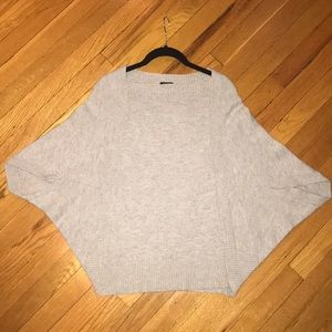 Ann Taylor wool grey sweater size small